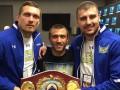 Порошенко поздравил украинских боксеров с блестящими победами