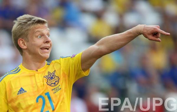 Александр Зинченко считает, что сборная Украины пропустила из-за невезения