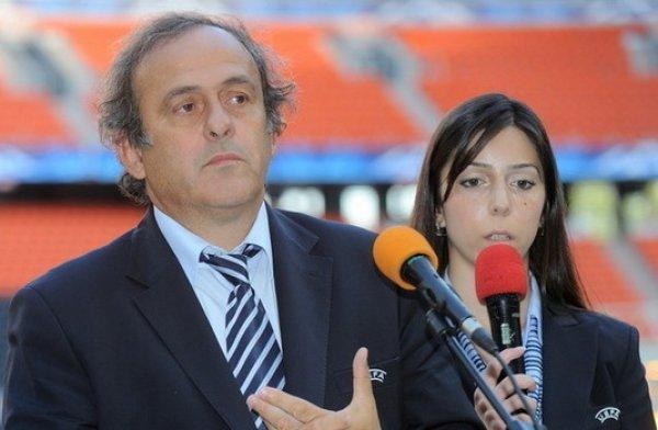 Мишель Платини проверил подготовку Донецка к Евро-2012