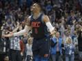 Данки Уэстбрука и Казинса среди лучших моментов матчей НБА