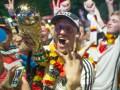 Гуляли всю ночь: Как в Берлине отметили победу сборной Германии на ЧМ (фото, видео)