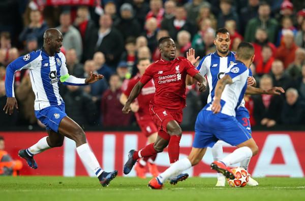 Ливерпуль обыграл Порту в домашнем матче