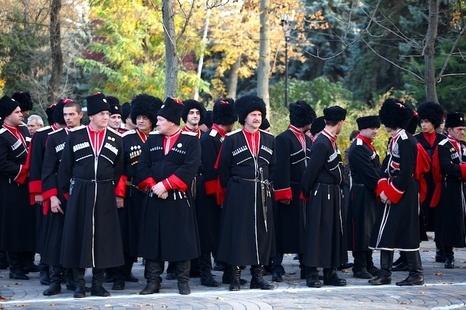 Кубанские казаки прибыли в Сочи для охраны порядка