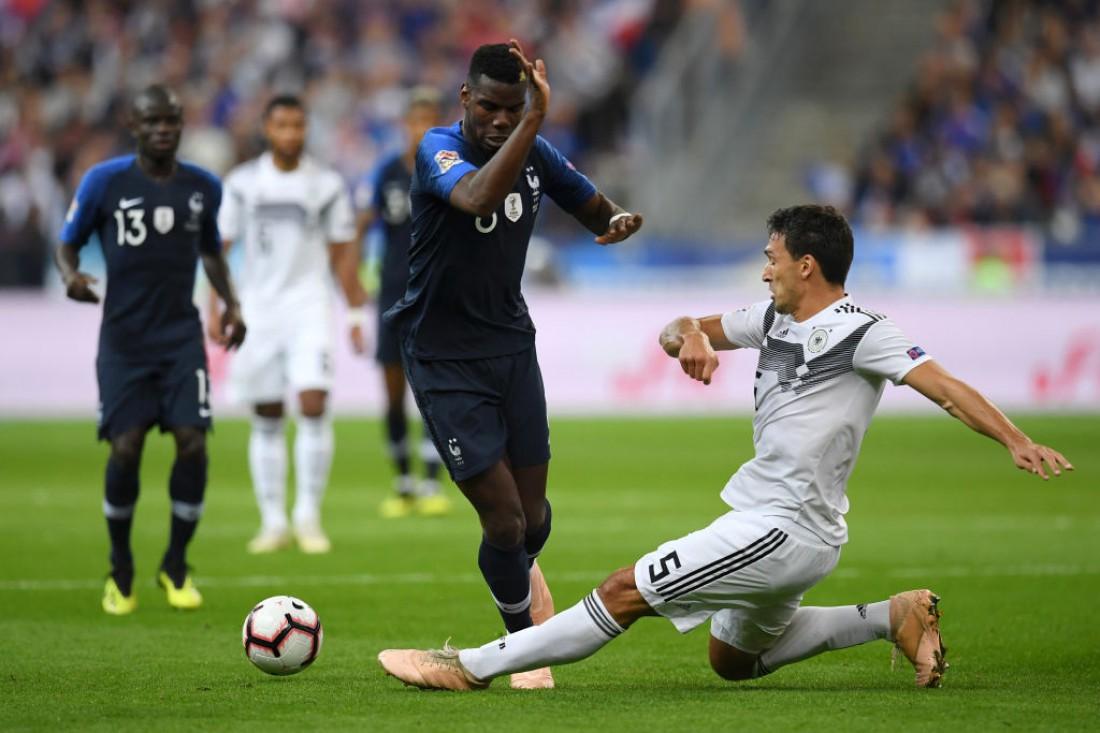 Франция - Германия: видео голов и обзор матча