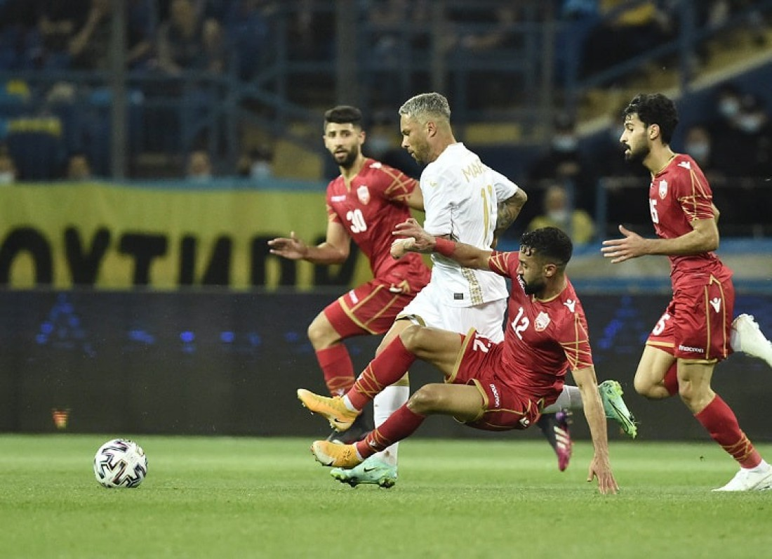 Сборная Украины - сборная Бахрейна