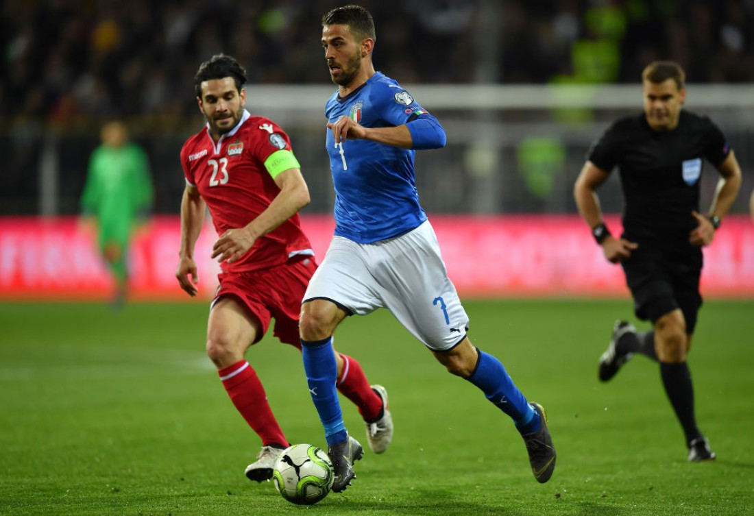 Италия разгромила Лихтенштейн