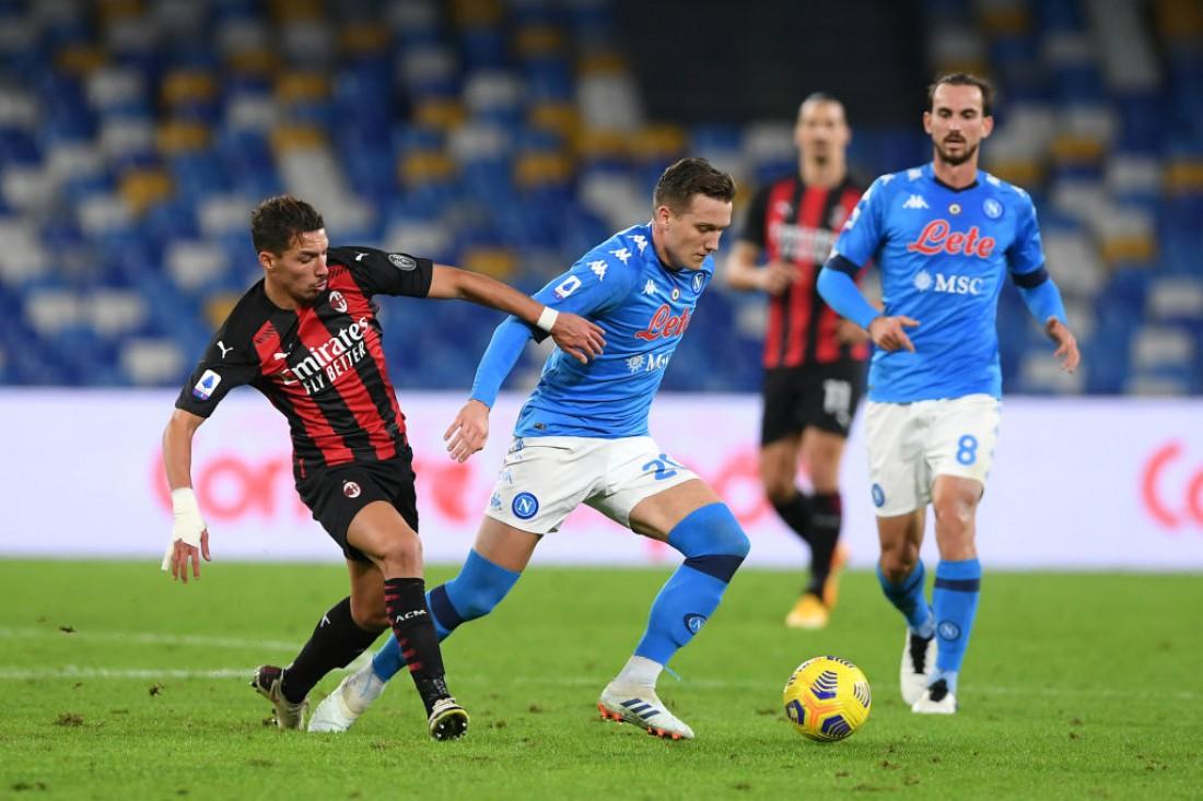 Матч Серии А Наполи - Милан 1:3