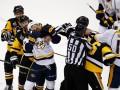 Питтсбург – Нэшвилл: две потасовки и 100 минут штрафа в пятом матче финала