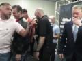 Сондерс и Хурцидзе чуть не затеяли драку на пресс-конференции