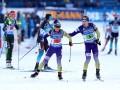 Биатлон: онлайн трансляция эстафет на чемпионате мира в Антхольце