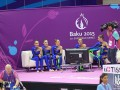 Украинские гимнастки заняли третье место на Европейских играх