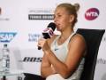 Костюк: Хотела бы сыграть с Роджером Федерером