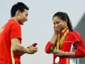 Китайской спортсменке сделали предложение на церемонии награждения