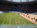 После церемонии открытия на Донбасс-Арене пришлось заменить 30% газона