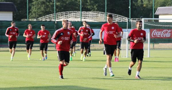 Тренировка сборной Беларуси