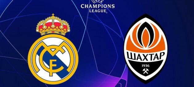 Реал - Шахтер 0:0 онлайн-трансляция матча Лиги чемпионов