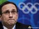 Министр спорта Грузии Николоз Рурия не может сдержать слез