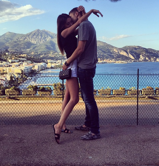 Форвард Динамо вместе с женой