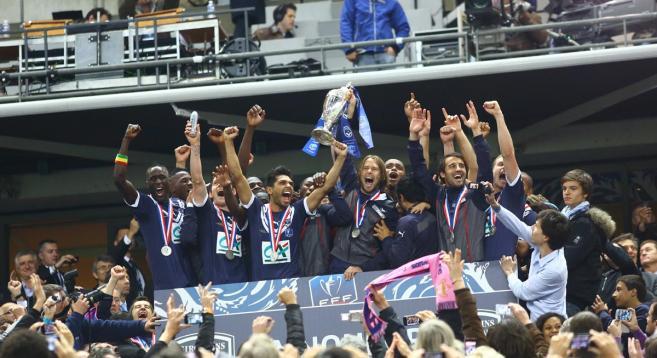 Бордо впервые за 26 лет завоевал Кубок Франции