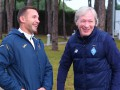 Шевченко посетил лагерь Динамо в Турции
