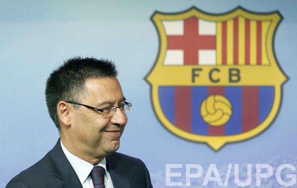 Бартомеу рассказал о финансовых успехах Барселоны