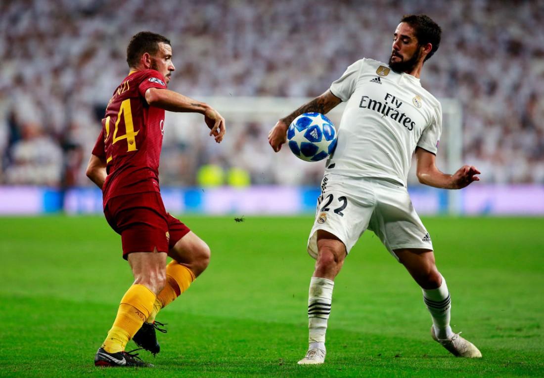 Видео голов матча Реал - Рома