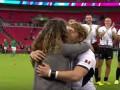 Регбист сделал предложение девушке после матча Кубка мира