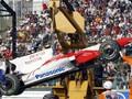 Гран-при Японии – авария Тимо Глока