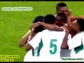 Эффектный гол пяткой от форварда сборной Нигерии в ворота ЮАР