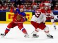 Россия - Дания 3:0 Видео шайб и обзор матча ЧМ по хоккею