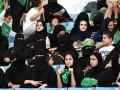 В Саудовской Аравии женщинам впервые разрешили посетить футбол на стадионе