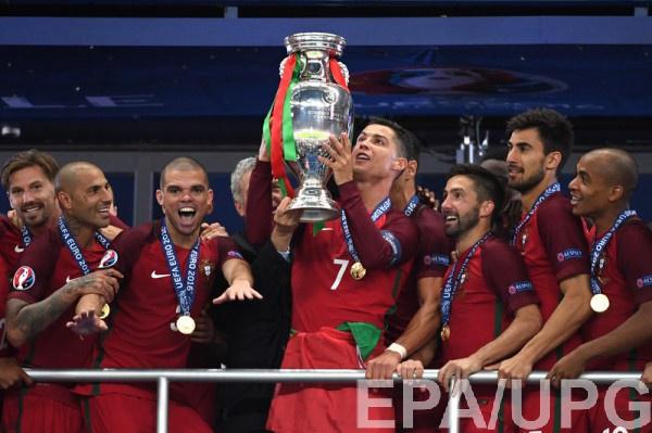 Сборная Португалии - победитель Евро-2016