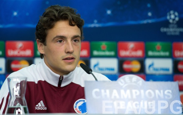 Динамо интересовалось полузащитником Копенгагена Дилэйни
