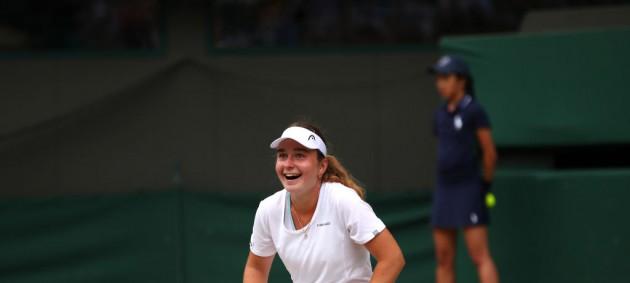 Снигур сенсационно обыграла именитую соперницу в полуфинале турнира серии ITF в Дубае