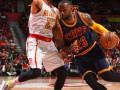 NBA: Кливленд обыграл Атланту, Оклахома сравняла счет в серии с Сан-Антонио