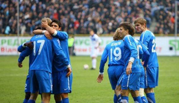 После победы над Динамо у Днепра появились хорошие шансы занять третье место