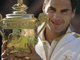 Федерер с заветным трофеем