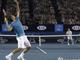 На подаче Федерер