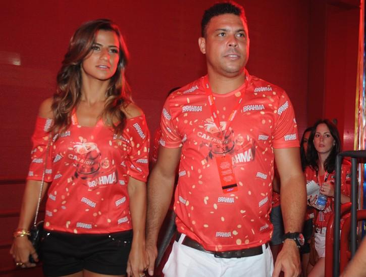 Паула Мораис и Роналдо