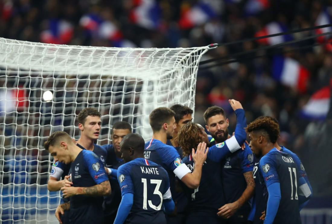 сборная Албания - сборная Франция: видео голов и обзор матча
