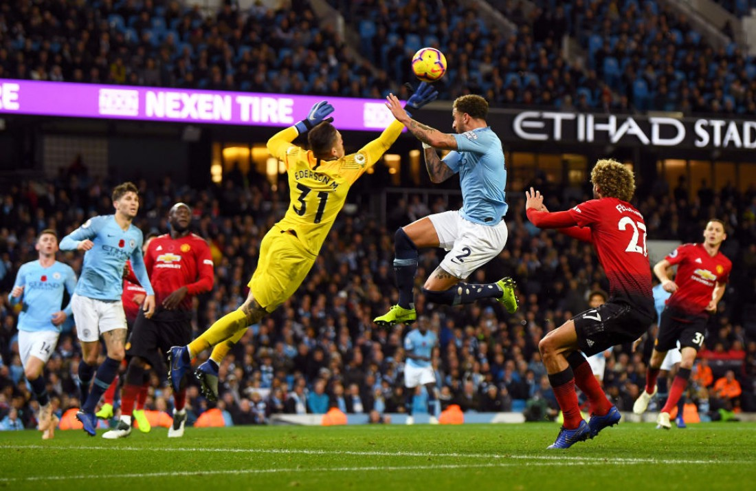 Манчестер Сити - Манчестер Юнайтед: видео голов и обзор матча