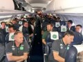 Самолет с футболистами разбился в Колумбии