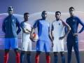 Сборные Франции и Англии представили форму к Евро-2016