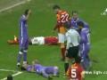Футболист попал в больницу после столкновения с Дрогба