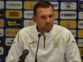 Шевченко: Важно, чтобы все футболисты читали одинаково игру на футбольном поле