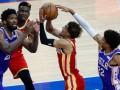Плей-офф НБА: Филадельфия обыграла Атланту, Юта справилась с Клипперс