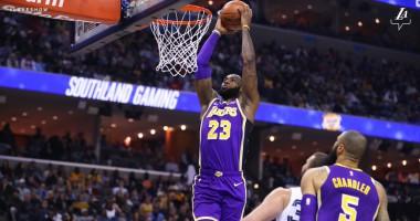 Потрясающие данки ЛеБрона и Харриса – одни из лучших моментов дня в НБА
