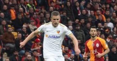 Кравец забил победный гол в ворота Ризеспора