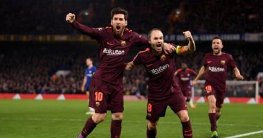 Челси - Барселона 1:1 видео голов и обзор матча