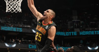 Второй дабл-дабл Леня в сезоне: видео действий украинца в матче НБА